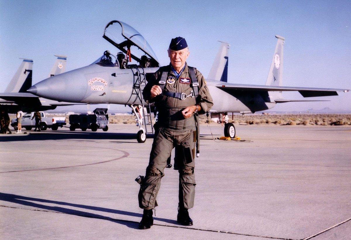 Brig Gen Charles E. Yeager, USAF (Ret) (F)